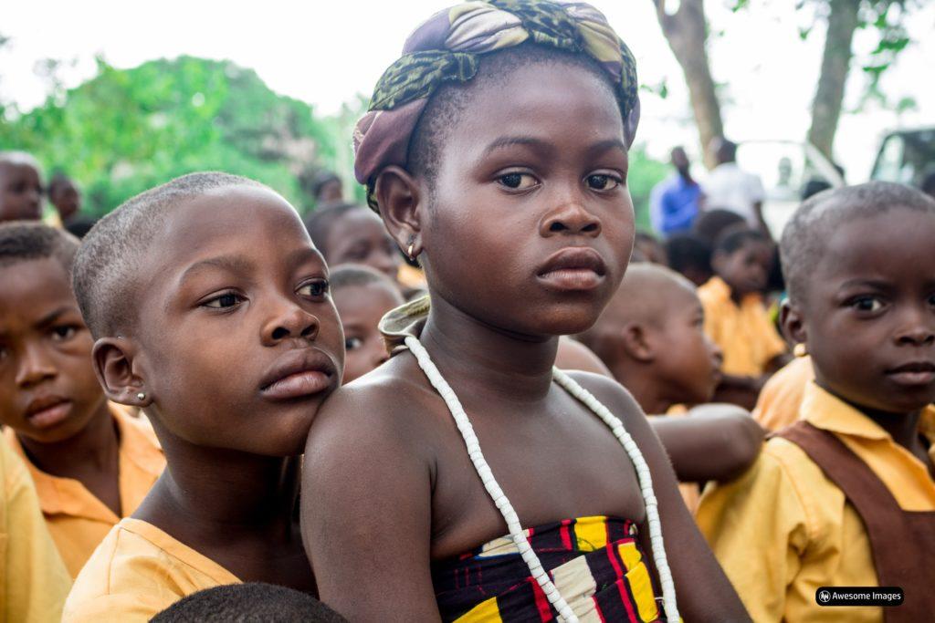 Enfants en Afrique